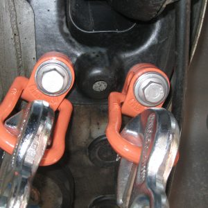 Artikelnummer 46: VW- Schraube M14 für Fahrzeugbefestigung